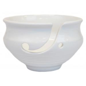 Infinity Hearts Garnskål Keramik Hvid 14cm