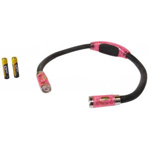 LED Nakkelampe - Pink