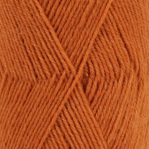 Fabel Unicolor 110 Rust / Orange