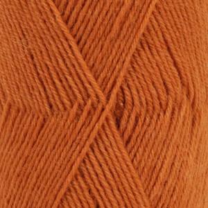 Image of   Drops Fabel Garn Unicolor 110 Rust / Orange