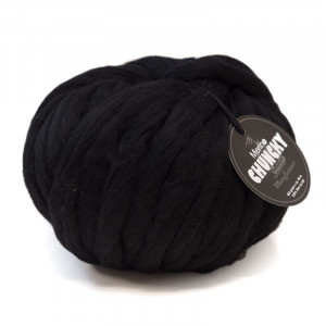 Mayflower Chunky Kæmpe Garn Unicolor 402 Sort