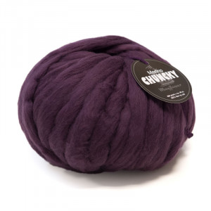 Mayflower Chunky Kæmpe Garn Unicolor 408 Aubergine