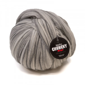 Mayflower Mega Chunky Kæmpe Garn Unicolor 1004 Grå
