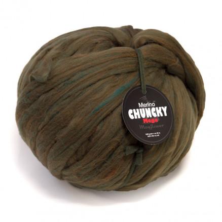 Mayflower Mega Chunky Kæmpe Garn Unicolor 1009 Grøn Melange