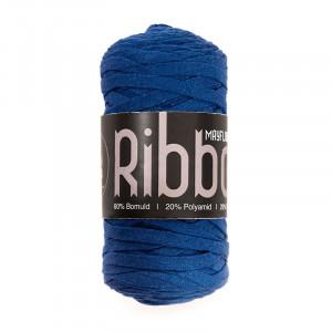 Mayflower Ribbon Stofgarn Unicolor 115 Blå