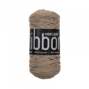 Mayflower Ribbon Stofgarn Unicolor 112 Beige