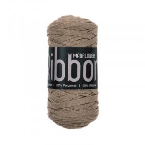 Mayflower Ribbon Stofgarn Unicolor 112 Beige