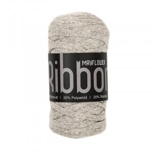 Mayflower Ribbon Stofgarn Mix 105 Grå
