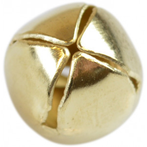 Bjælde / Rasleklokke 10 mm Guld - 1 stk