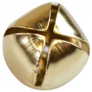 Bjælde / Rasleklokke 12 mm Guld - 1 stk
