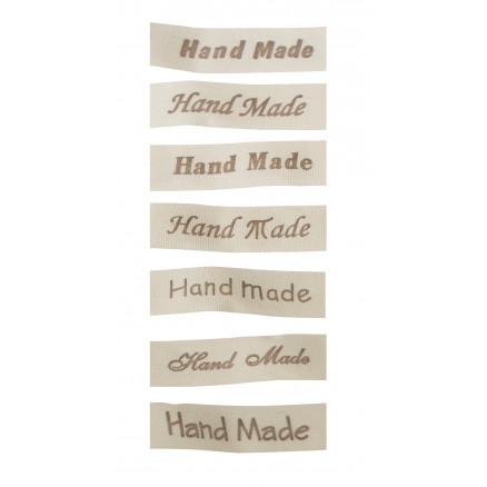 Image of   Infinity Hearts Bånd med Labels Handmade 7 skriftyper - 315cm