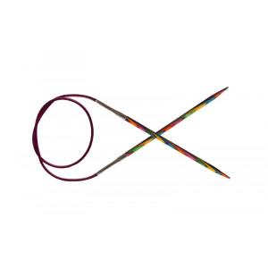 KnitPro Symfonie Rundpinde Birk 50cm 10,00mm / 19.7in US15