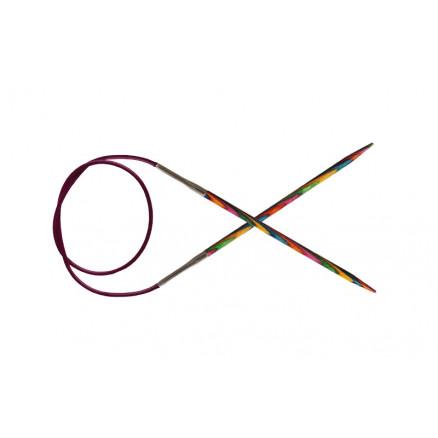 Knitpro Symfonie Rundpinde Birk 80cm 6,00mm / 31.5in Us10