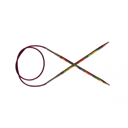 KnitPro Symfonie Rundpinde Birk 80cm 7,00mm / 31.5in US10¾ thumbnail