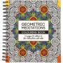 Mindfulness Malebog Geometrisk 19,5x23cm - 64 sider