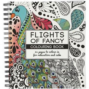 Mindfulness Malebog Flights of Fancy 19,5x23 cm - 64 sider