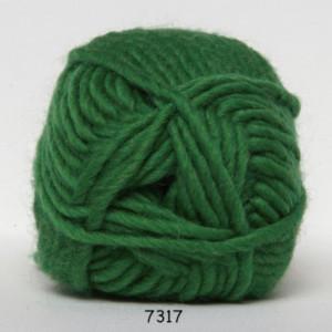 Hjertegarn natur uld garn unicolor 7317 græsgrøn fra Hjertegarn fra rito.dk