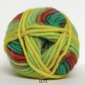 Hjertegarn – Hjertegarn natur uld garn long print 1171 cirkus fra rito.dk