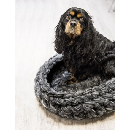 Mayflower Hæklet Hundekurv - Hækleopskrift