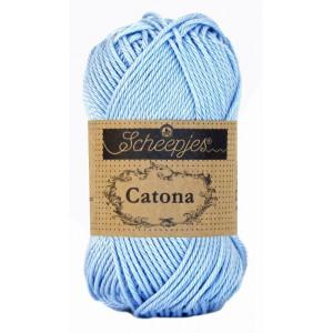 Scheepjes Catona Garn Unicolor 173 Bluebell