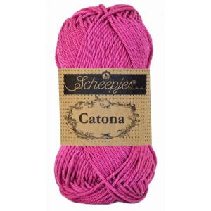 Scheepjes Catona Garn Unicolor 251 Garden Rose