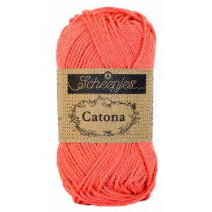 Image of   Scheepjes Catona Garn Unicolor 252 Watermelon