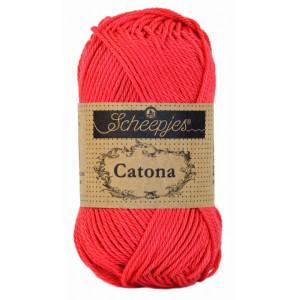 Scheepjes Catona Garn Unicolor 256 Carmelia Rose