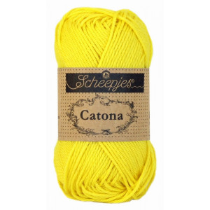 Image of   Scheepjes Catona Garn Unicolor 280 Lemon