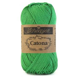 Scheepjes Catona Garn Unicolor 515 Emerald