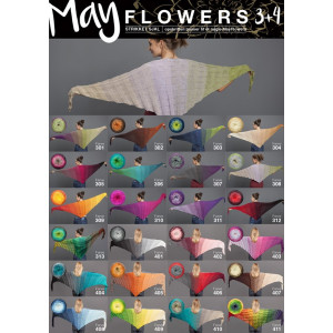 Mayflowers Strikket Sjal - Sjal Strikkeopskrift