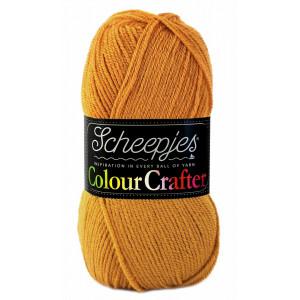 Image of   Scheepjes Colour Crafter Garn Unicolor 1709 Burum
