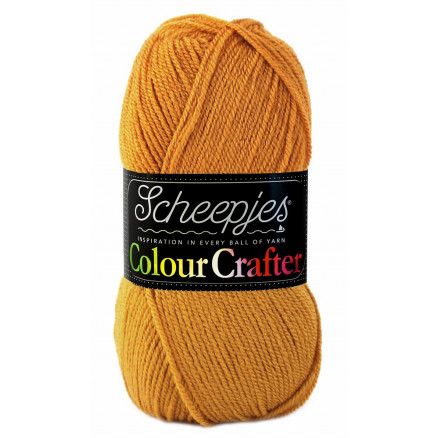 Image of   Scheepjes Colour Crafter Garn Unicolor 1709 Burum