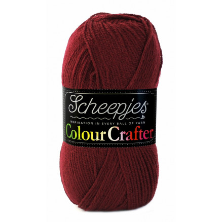 Image of   Scheepjes Colour Crafter Garn Unicolor 1035 Kampen