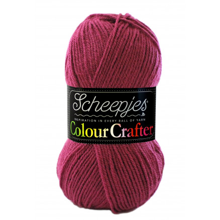 Image of   Scheepjes Colour Crafter Garn Unicolor 1828 Zutphen