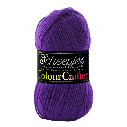 Image of   Scheepjes Colour Crafter Garn Unicolor 2001 Antwerpen