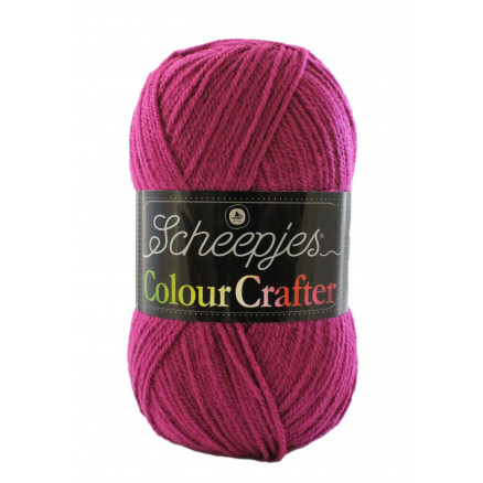 Image of   Scheepjes Colour Crafter Garn Unicolor 2009 Kortrijk