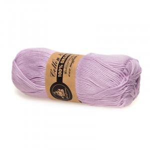 Mayflower Cotton 8/4 Organic Økologisk Garn 10 Lys Lilla