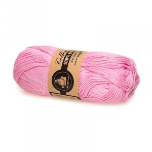 Mayflower Cotton 8/4 Organic Økologisk Garn 12 Lyserød