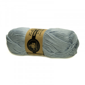 Mayflower Cotton 8/4 Organic Økologisk Garn 13 Lys Gråblå