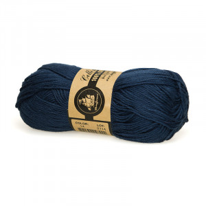 Mayflower Cotton 8/4 Organic Økologisk Garn 14 Marineblå