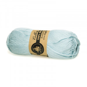 Mayflower Cotton 8/4 Organic Økologisk Garn 16 Lyseblå