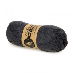 Mayflower Cotton 8/4 Organic Økologisk Garn 19 Mørkegrå