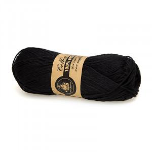 Mayflower Cotton 8/4 Organic Økologisk Garn 20 Sort