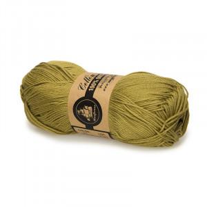 Mayflower Cotton 8/4 Organic Økologisk Garn 21 Lys Oliven