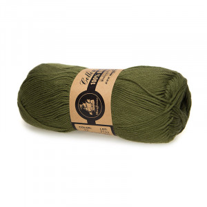 Mayflower Cotton 8/4 Organic Økologisk Garn 22 Oliven