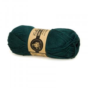 Mayflower Cotton 8/4 Organic Økologisk Garn 24 Petrolgrøn