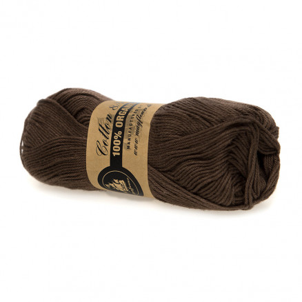 Mayflower Cotton 8/4 Organic Økologisk Garn 26 Brun