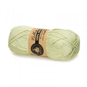 Mayflower Cotton 8/4 Organic Økologisk Garn 23 Pastel Grøn