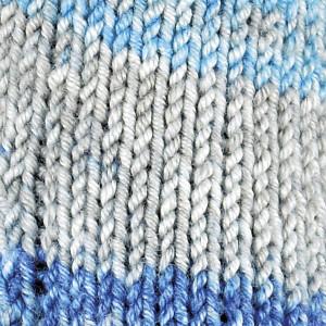 Järbo Soft Raggi Garn Print 31217 Himmel og Hav