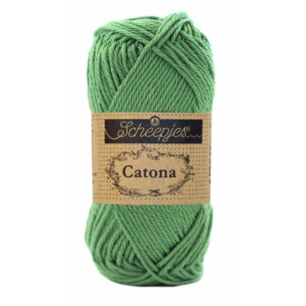 Image of   Scheepjes Catona Garn Unicolor 412 Forest Green